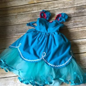 Toddler Girls Poppy (Trolls) Dress